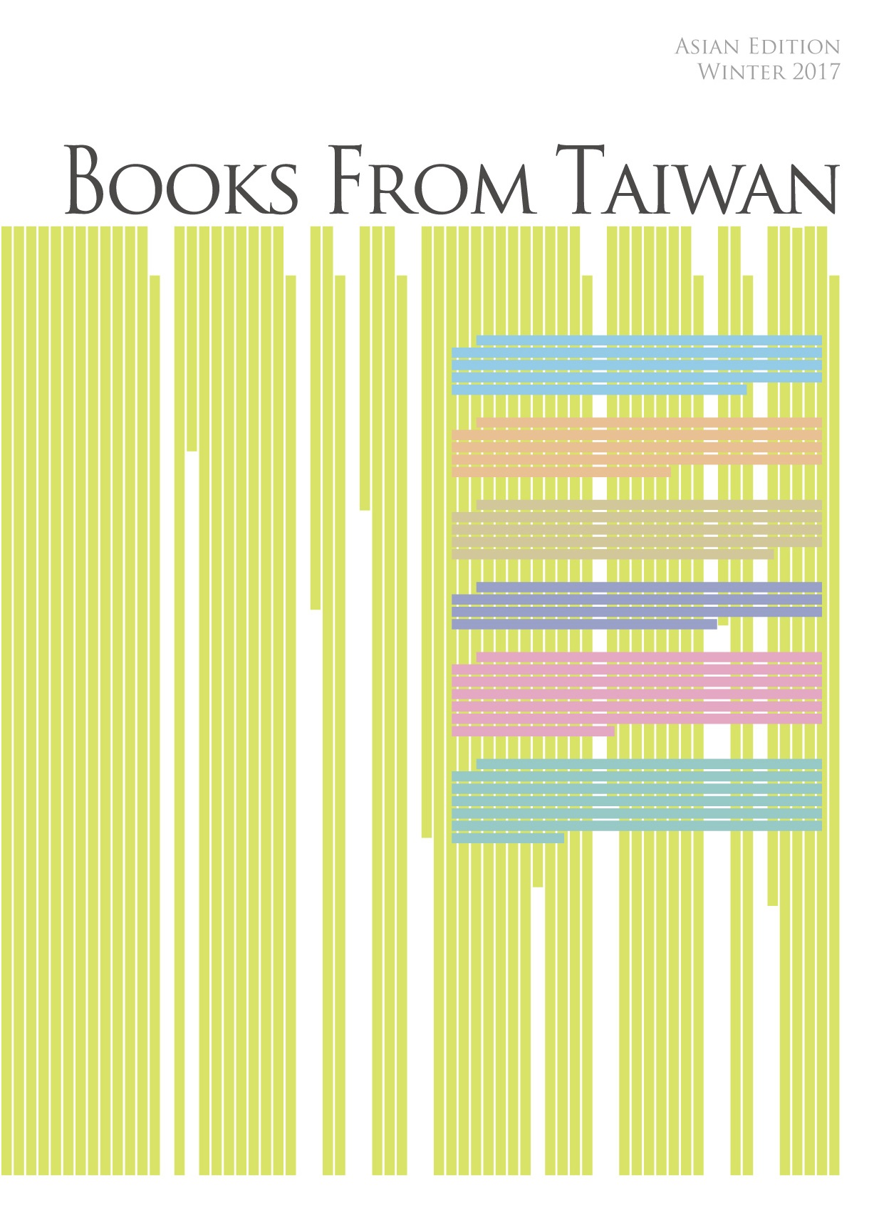 Books from Taiwan Asian Edition 2017